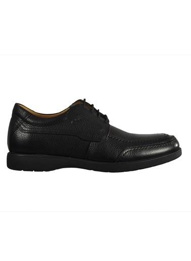 Dr.Flexer 027011 Kahverengi Erkek Günlük Hakiki Deri Ayakkabı Siyah